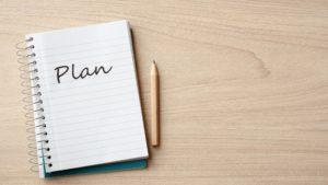 ①計画を細かく立てる